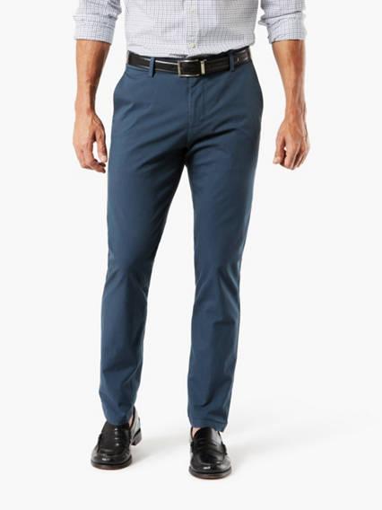 Men's Signature Khaki Pants, Tapered Fit