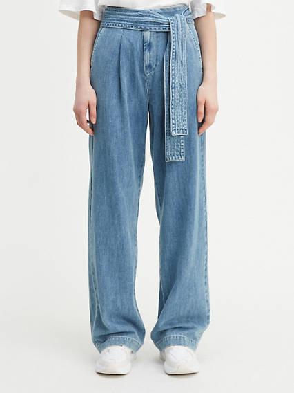 Tie Trouser Pants