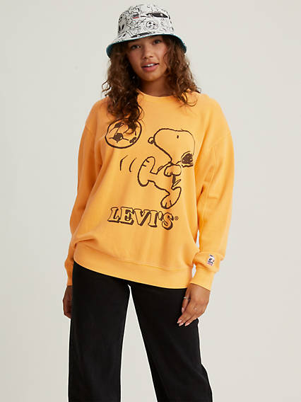 Levi's® X Peanuts Graphic Crew Sweatshirt