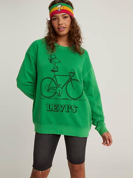 Levi's® x Peanuts Unbasic Crewneck Sweatshirt