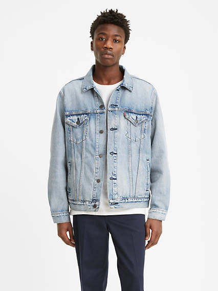 Cottonized Hemp Vintage Fit Trucker Jacket
