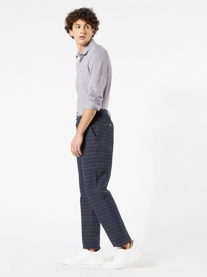 Alpha Chinos, Tapered Fit - Blue 796450027   Dockers® US