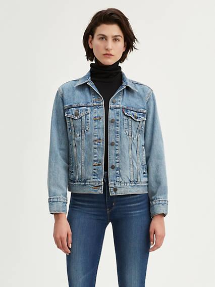 Levi's® Ex-Boyfriend Trucker Jacket with Jacquard™ by Google