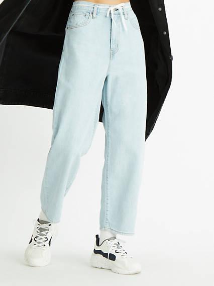 Balloon Leg Jeans