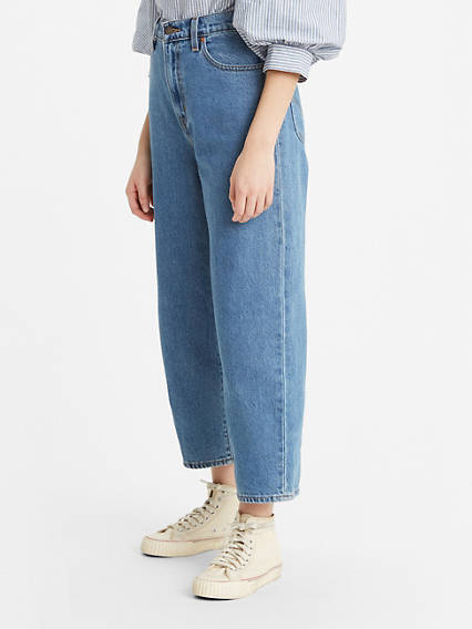 Balloon Leg Cottonzed Hemp Women's Jeans