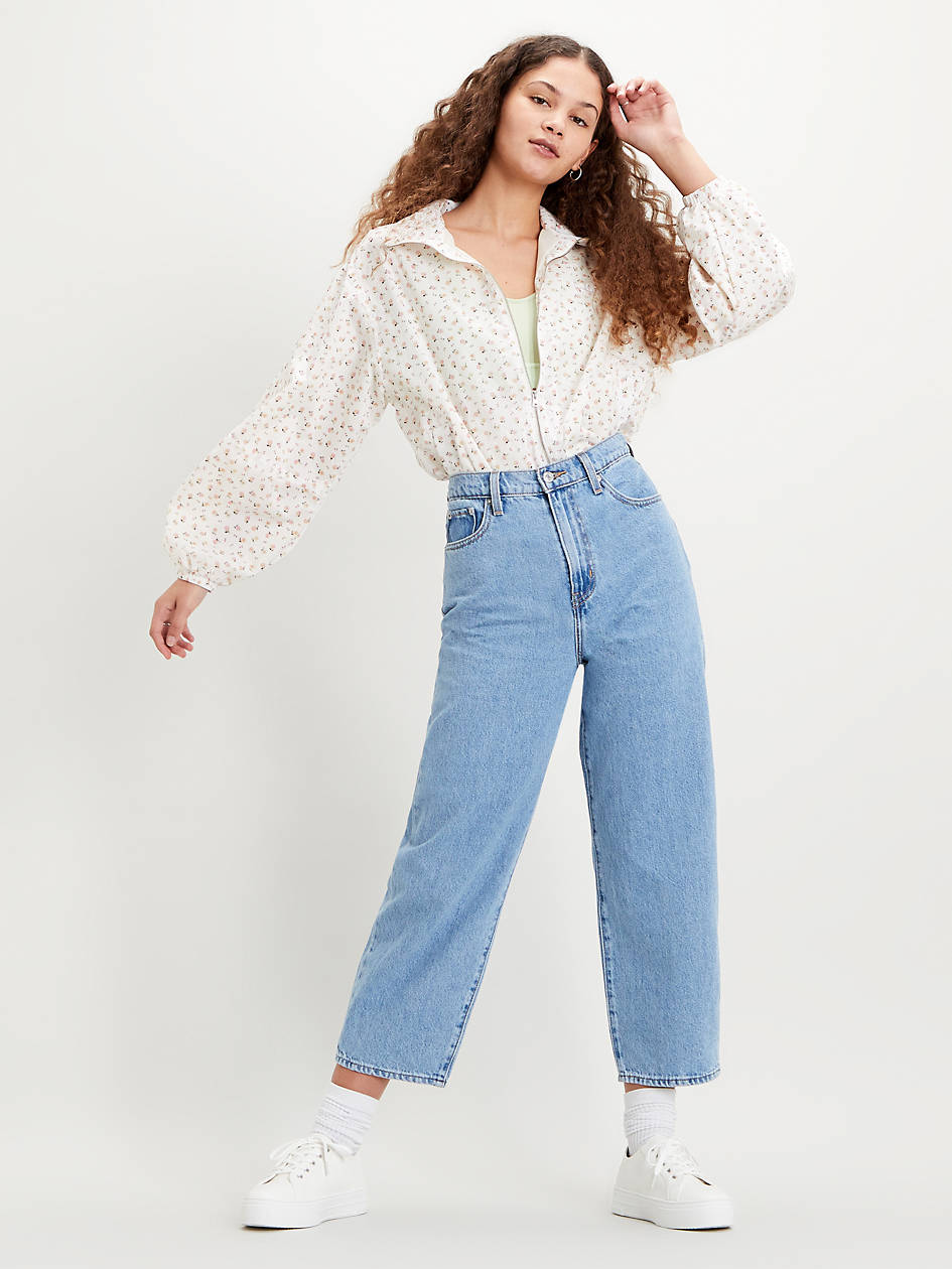 Balloon Leg Cottonzed Hemp Women's Jeans - Light Wash | Levi's® US