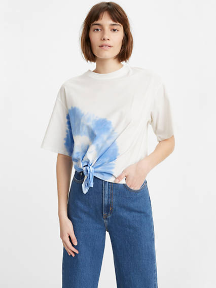 Luna Knotted Tee Shirt
