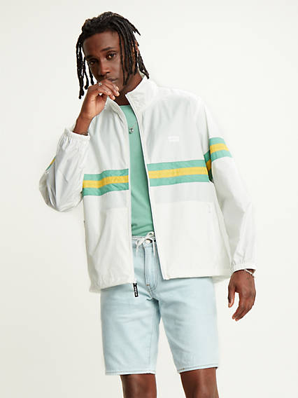 Colourblocked Windbreaker