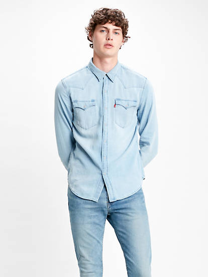 Barstow Western Standard Shirt Blå | Levi's® SE