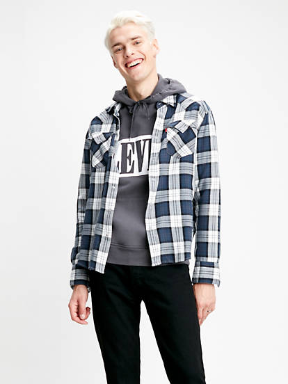 Barstow Western Standard Shirt Neutral | Levi's® SE