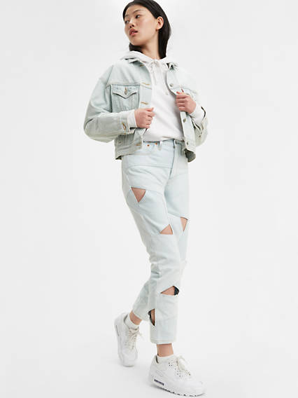 501® Original Pieced Denim Cropped Women's Jeans