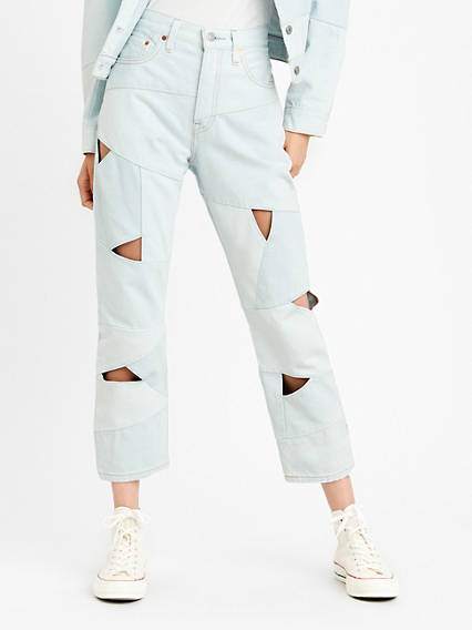 501® Crop Pieced Jeans