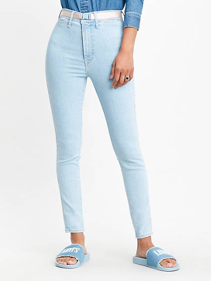 Mile High Ankle Super Skinny Jeans