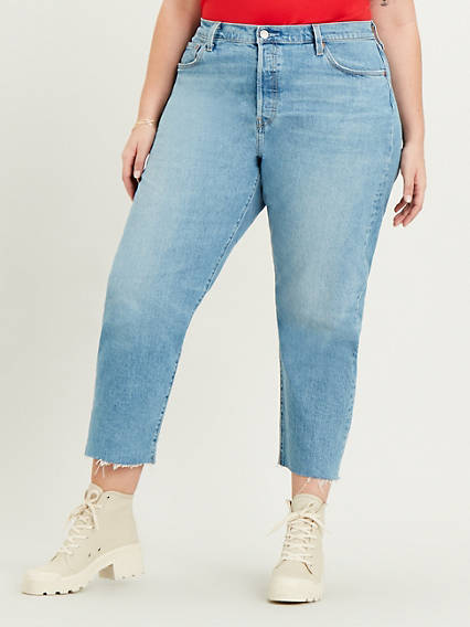 501® Crop Jeans (Plus Size)