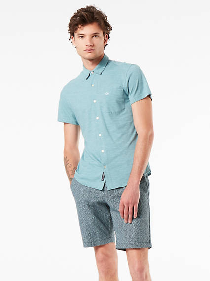 Alpha 360 Button Up Short Sleeve