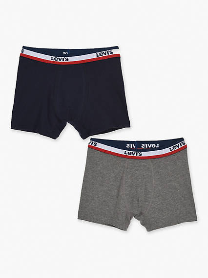 Kids 84 Olympic Boxer Brief 2 Pack