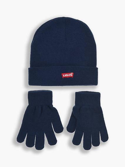 Kids Batwing Beanie Gloves