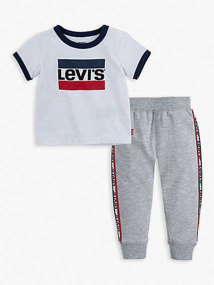 Baby Tee Slouchy Jogger Set