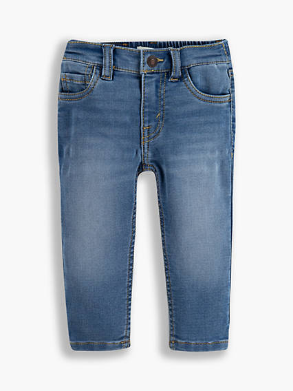 Baby Skinny Knit Pull On Jeans