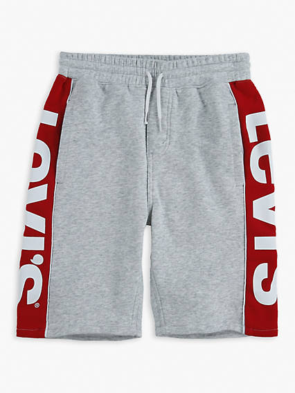 Kids Knit Jogger Logo Shorts