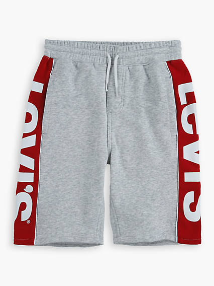 Teenager Knit Jogger Logo Shorts