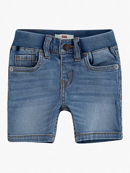 Baby Pull-On Denim Shorts