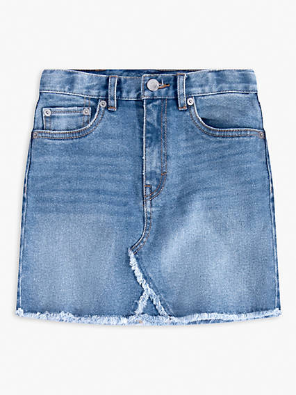 Kids High-Waisted Skirt