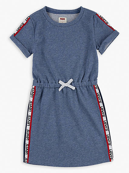 Kids Elastic Waist Dress