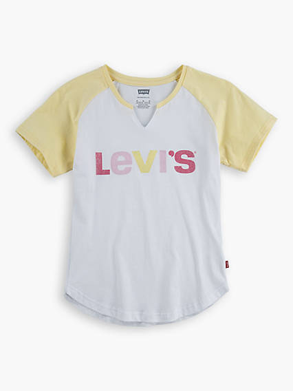Kids Raglan Varsity Top
