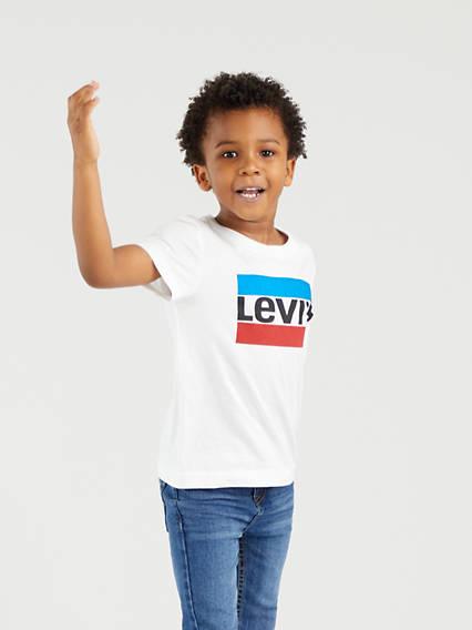 Kids Sportswear Logo Tee