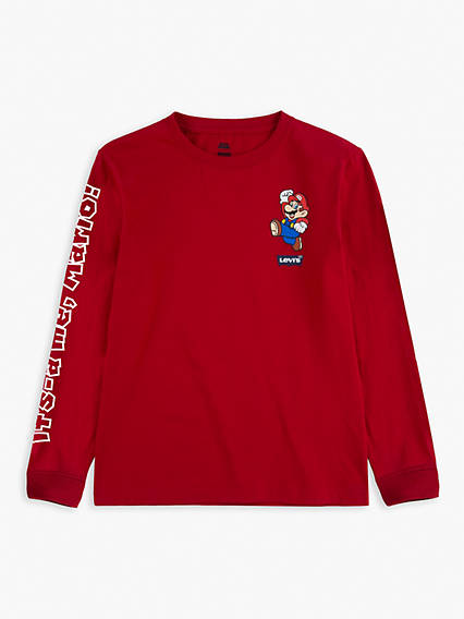 Levi's® x Super Mario Kids Its A Me Mario Tee