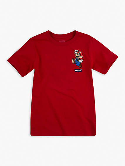 Levi's® x Super Mario Junior Its A Me Mario Tee