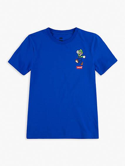 Levi's® x Super Mario Teenager Luigi Mamma Mia Tee