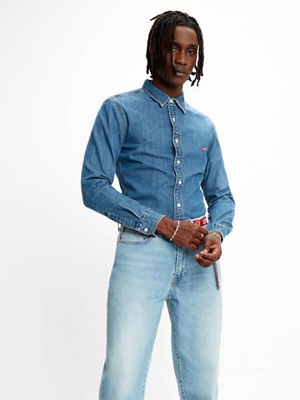Slim Fit Long Sleeved Shirt