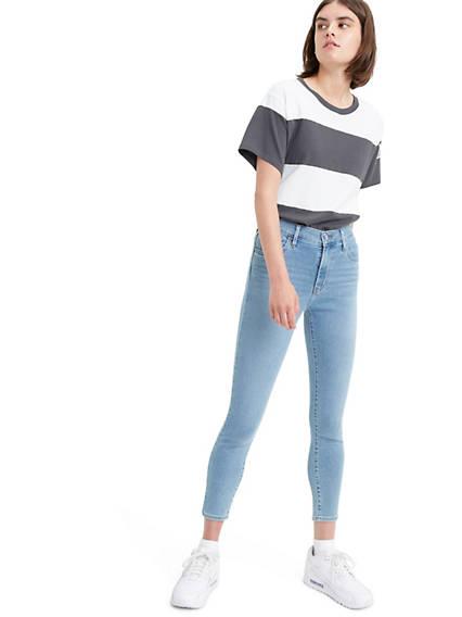 720 High Rise Super Skinny Crop Women's Jeans