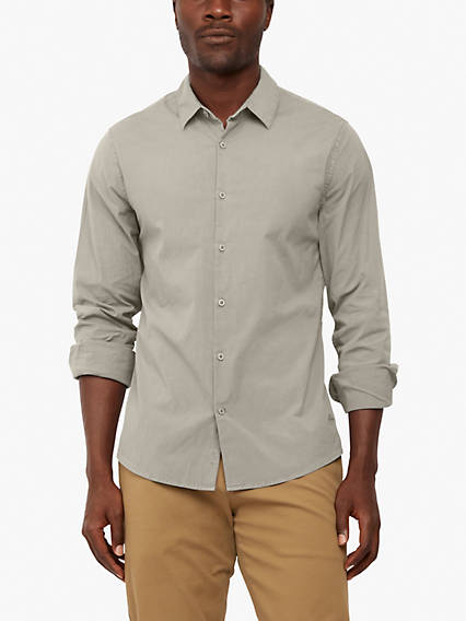 Sustainable Alpha Spread Collar Shirt