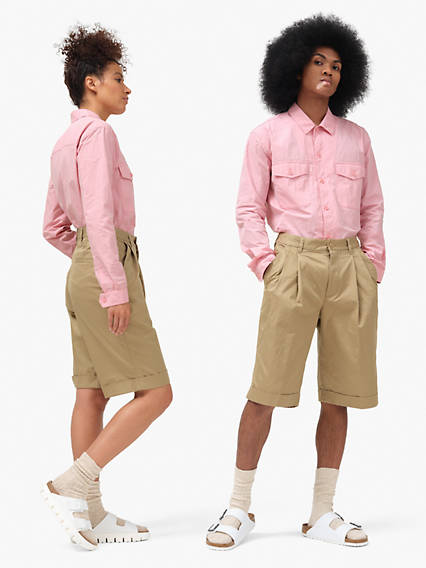 Dockers® x karla Pleated Shorts