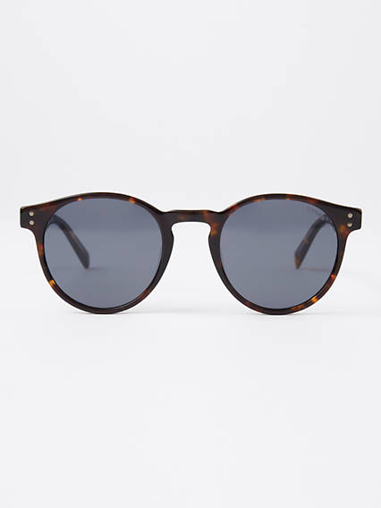 Levi's Black Round Sunglasses