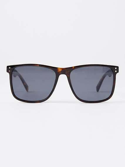 Levi's Brown Square Sunglasses
