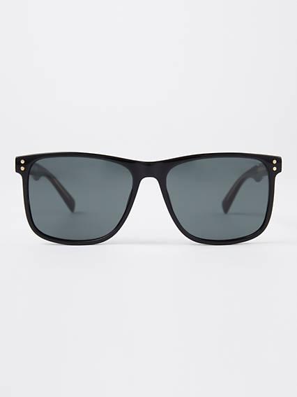Levi's Black Square Sunglasses