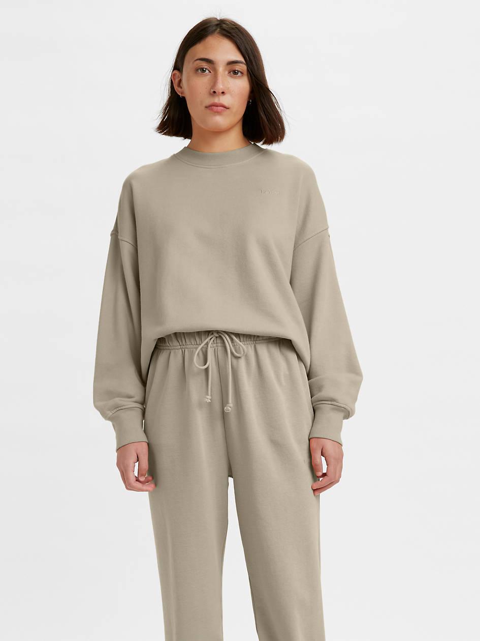 Red Tab™ Women's Crewneck Sweatshirt - Grey   Levi's® US