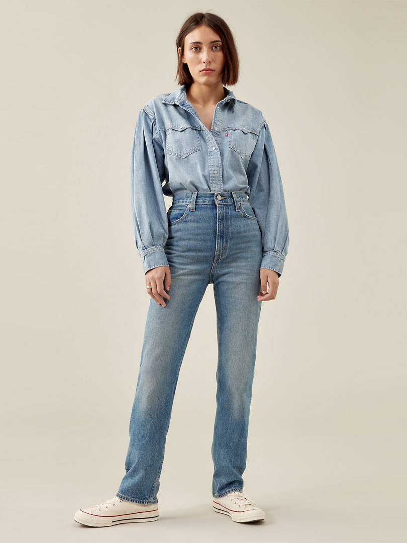 70's High Straight Jeans levi's