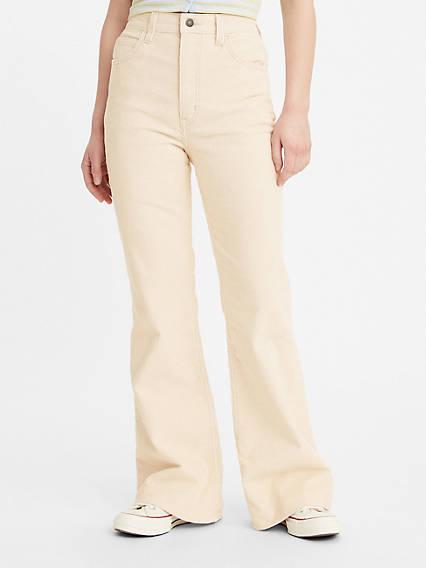 60s Pants, Jeans, Hippie, Flares, Jumpsuits Levis 70s High Rise Flare Womens Jeans 32x30 $89.50 AT vintagedancer.com