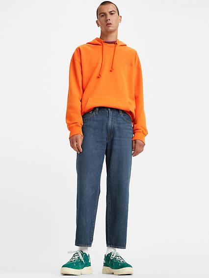 Men's Vintage Pants, Trousers, Jeans, Overalls Levis Stay Loose Taper Fit Cropped Mens Jeans 31 $89.50 AT vintagedancer.com
