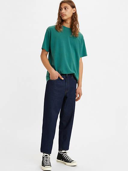 Men's Vintage Pants, Trousers, Jeans, Overalls Levis Stay Loose Taper Cropped Mens Jeans 31 $89.50 AT vintagedancer.com