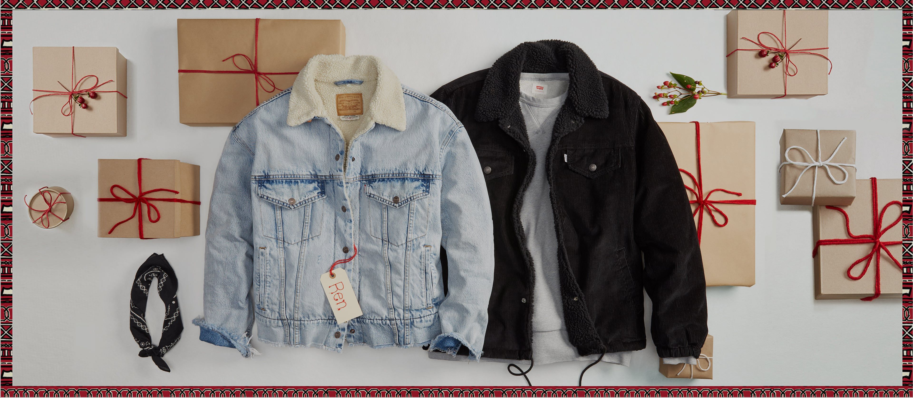 LEVI'S HOLIDAY GIFT GUIDE