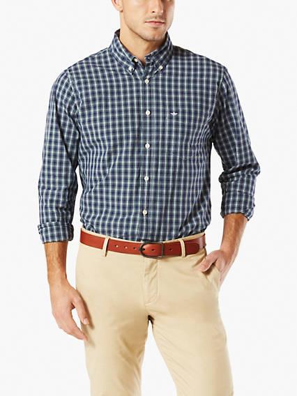 Big & Tall Essential Poplin Shirt
