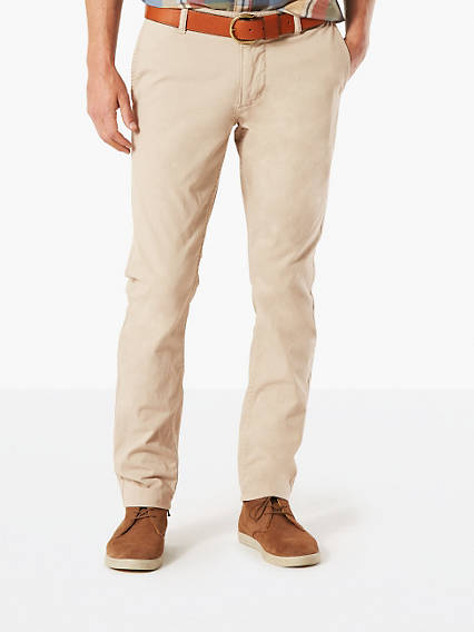 Premium Dockers® Alpha Stretch Khaki, Skinny Tapered