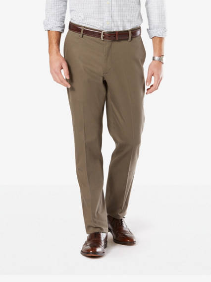Men's Signature Stretch Khaki Pants, Athletic Fit