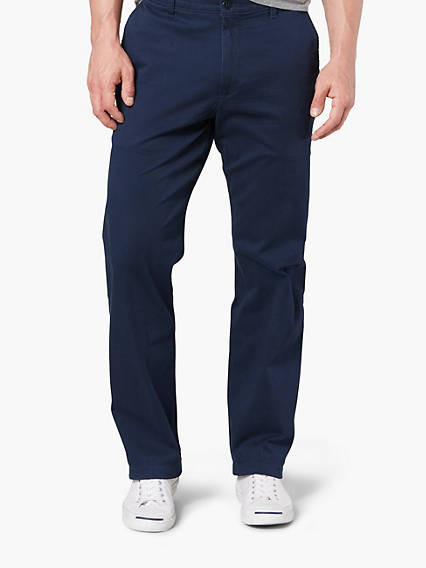 Washed Chino, Classic Fit - Stretch Twill